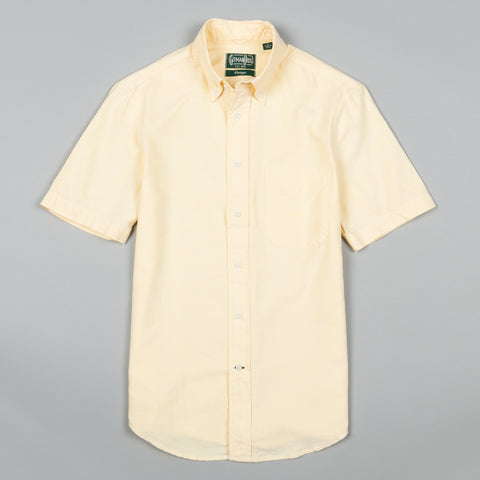 CLASSIC OXFORD SHORT SLEEVE BUTTON DOWN YELLOW