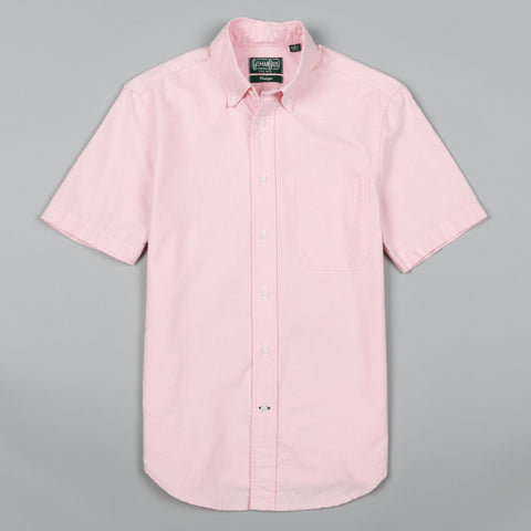 CLASSIC OXFORD SHORT SLEEVE BUTTON DOWN PINK