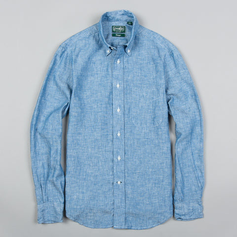 LINEN BUTTON DOWN CHAMBRAY