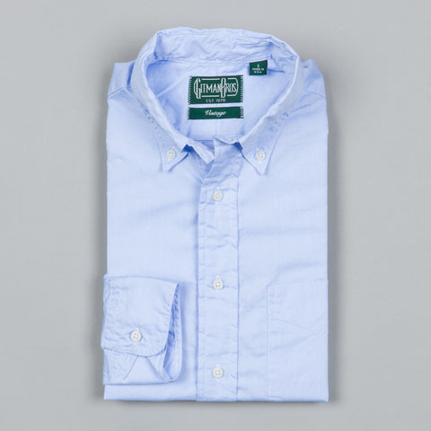 ZEPHYR OXFORD BUTTON DOWN BLUE