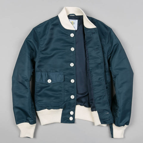 ALBATROSS BOMBER JACKET NAVY