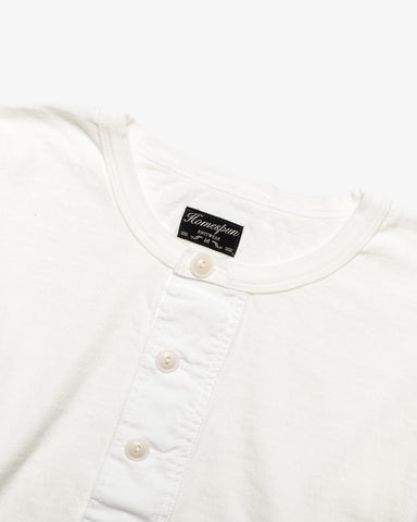 SURPLUS HENLEY OFF WHITE