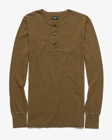 SURPLUS HENLEY OLIVE DRAB