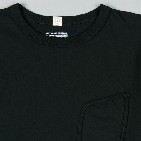 CLARK POCKET T-SHIRT BLACK