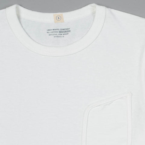 CLARK POCKET T-SHIRT WHITE