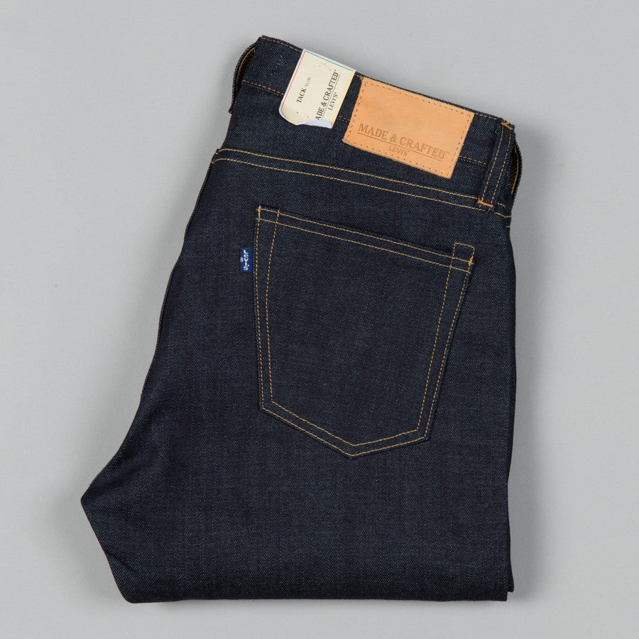 Levi 39 s made crafted tack slim selvedge rigid supply for Levi s made and crafted