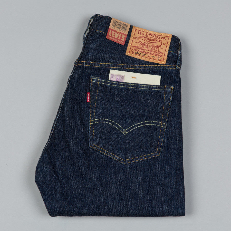 27ecde1d2aa LEVI S VINTAGE CLOTHING-1954 501 JEANS NEW RINSE-Supply   Advise ...
