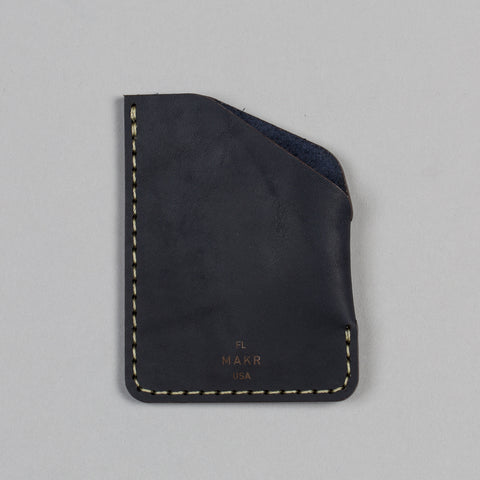 ANGLE WALLET NAVY MATTE