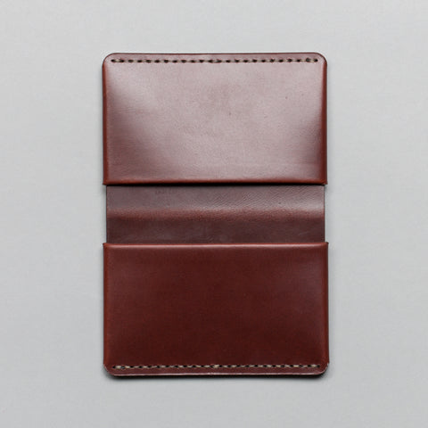 HORIZON FOUR WALLET OXBLOOD