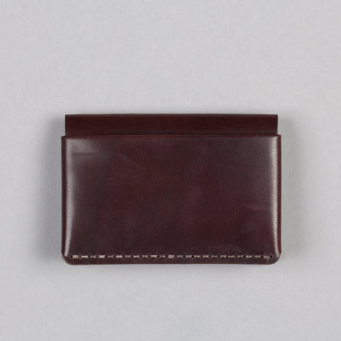 HORIZON FOUR WALLET OXBLOOD SHELL CORDOVAN