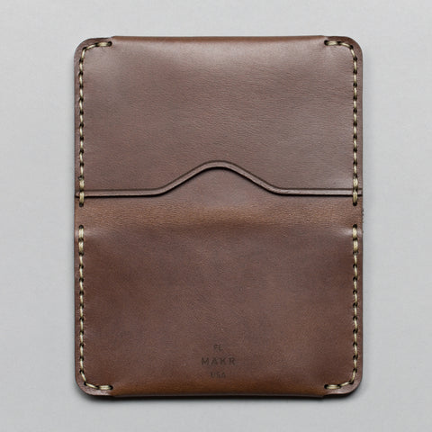 HORIZON THREE WALLET BARK