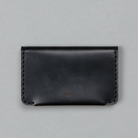 HORIZON THREE WALLET BLACK