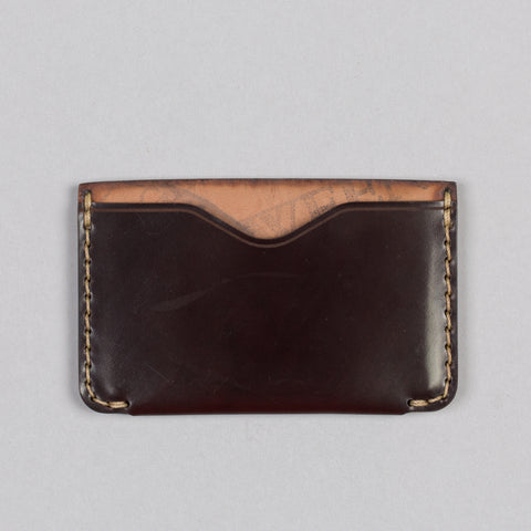 HORIZON TWO WALLET OXBLOOD SHELL CORDOVAN