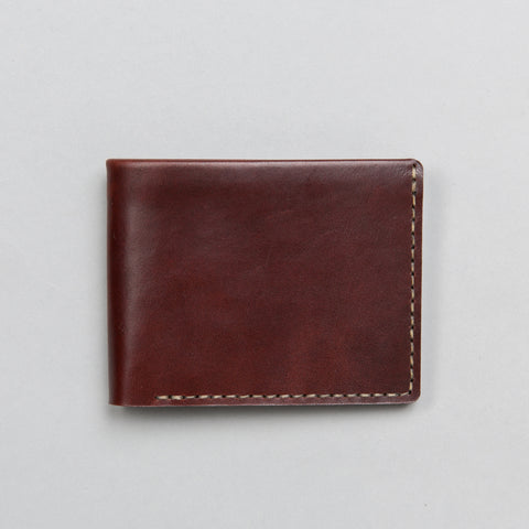 LANDSCAPE BILLFOLD WALLET OXBLOOD