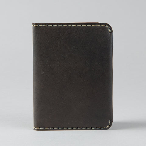 PASSPORT WALLET GUNMETAL