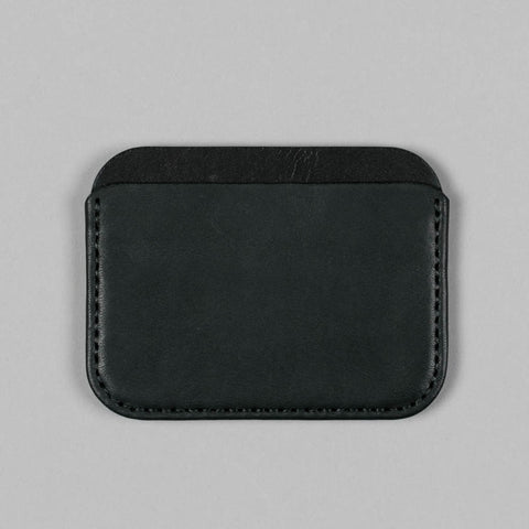 ROUND LUXE WALLET BLACK ESSEX