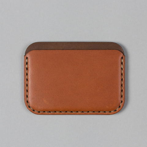 ROUND WALLET SADDLE TAN