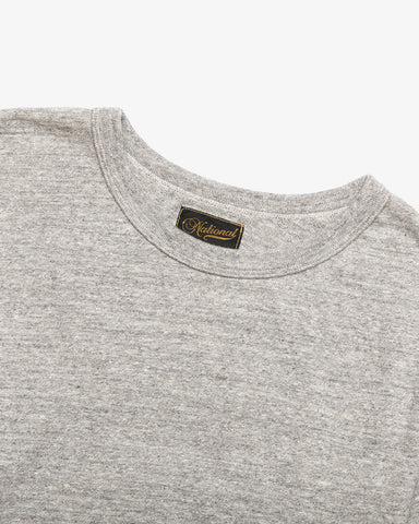 ATHLETIC TEE MID GREY
