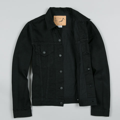 60S DENIM JACKET BLACK