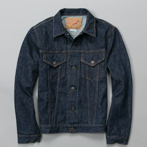 60S DENIM JACKET ONE WASH