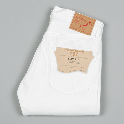 IVY FIT DENIM 107 WHITE