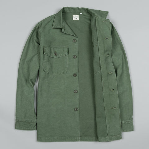 US ARMY SHIRT OLIVE USED