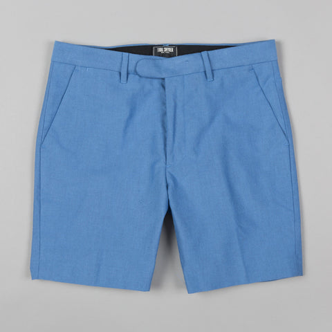 OXFORD CLUB SHORT BLUE