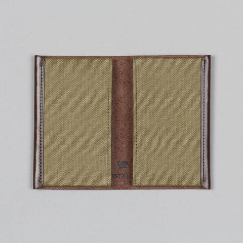 CARD HOLDER OLIVE GREEN