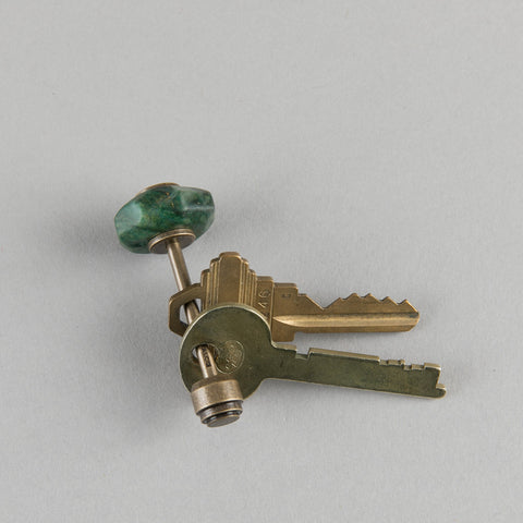 MINERAL KEY HOLDER NAMIBIAN JADE