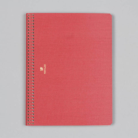 NOTEBOOK A5 SIGNAL RED