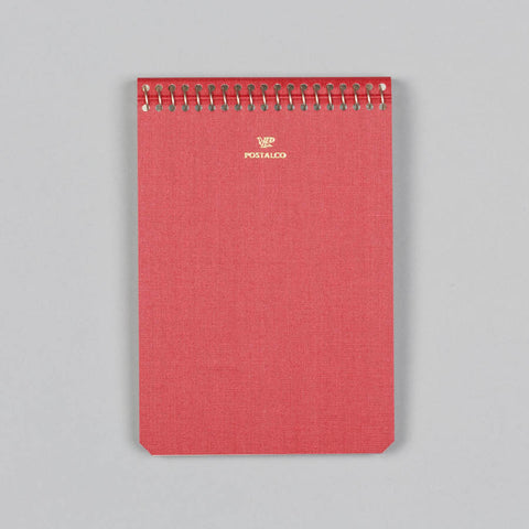 NOTEBOOK A6 SIGNAL RED