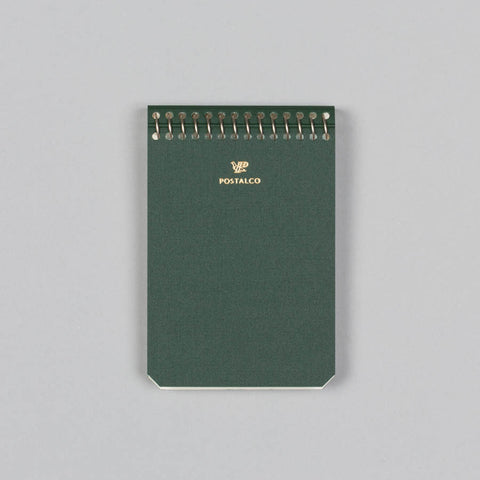NOTEBOOK A7 BANK GREEN