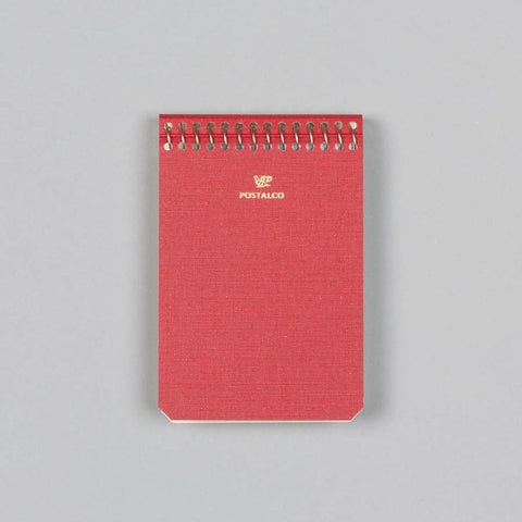 NOTEBOOK A7 SIGNAL RED