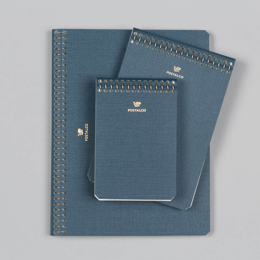 POSTALCO NOTEBOOK A7 DARK BLUE Supply Advise