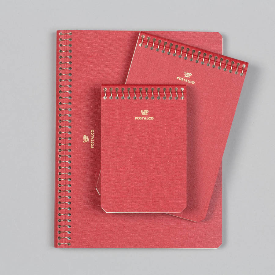 POSTALCO NOTEBOOK A7 SIGNAL RED Supply Advise