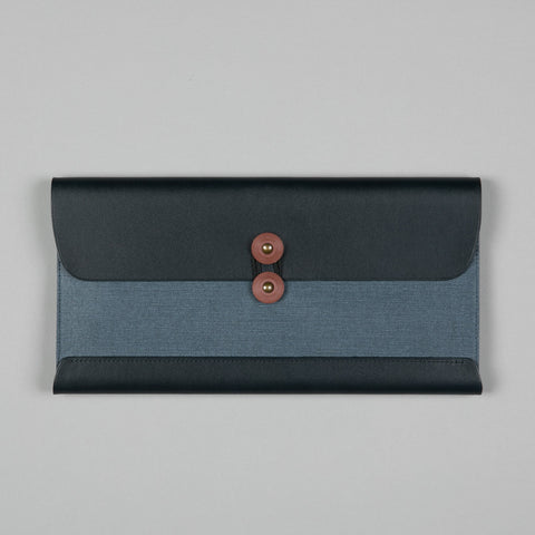 TRAVEL WALLET NAVY BLUE