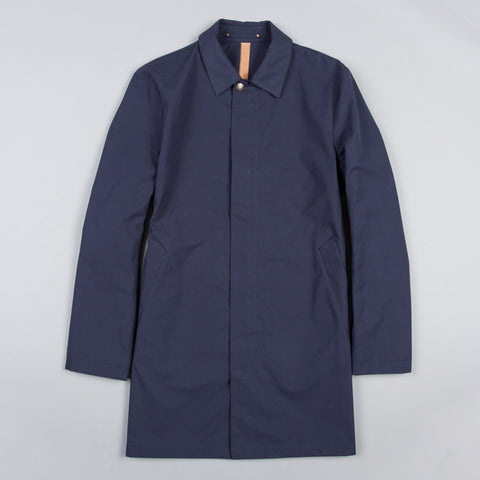 SB4 UNLINED VENTILE RAINCOAT NAVY