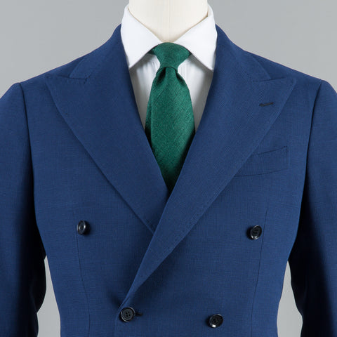 BALLOON WOOL DB SPORT COAT BLUE