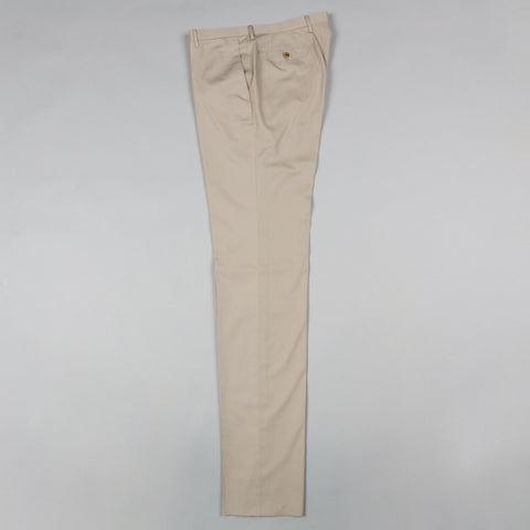 LIGHTWEIGHT COTTON TWILL 177 TROUSER KHAKI