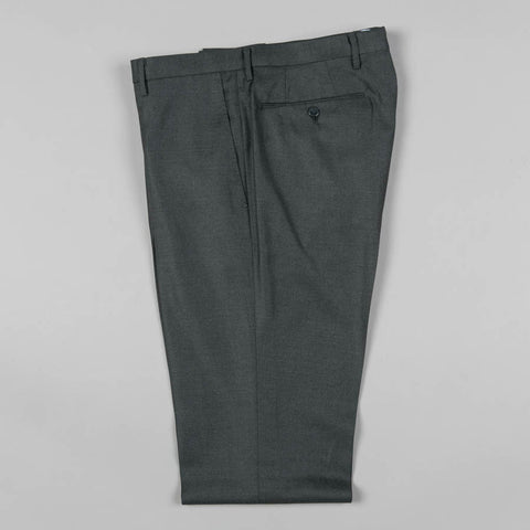 LORO PIANA WOOL 177 TROUSER GREY