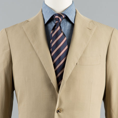 R. ROSSI ALOUETTE COTTON 184 SUIT TAN