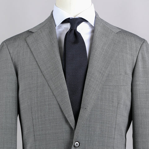 TRAVELLER WOOL SUIT GREY PINDOT