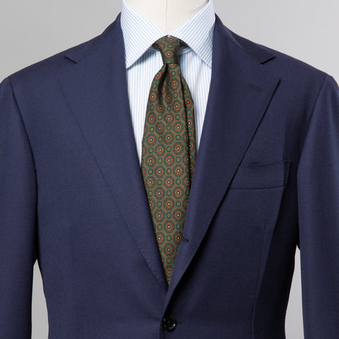 TRAVELLER WOOL SUIT NAVY