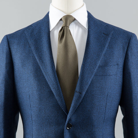 VBC WOOL 184 SPORT COAT BLUE GLEN CHECK