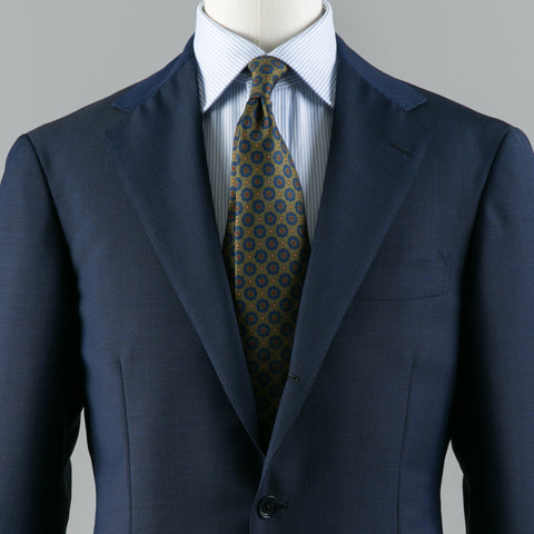 VBC WOOL/MOHAIR SUIT NAVY