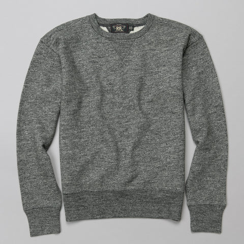 CLASSIC CREWNECK SWEATSHIRT GRAPHITE HEATHER