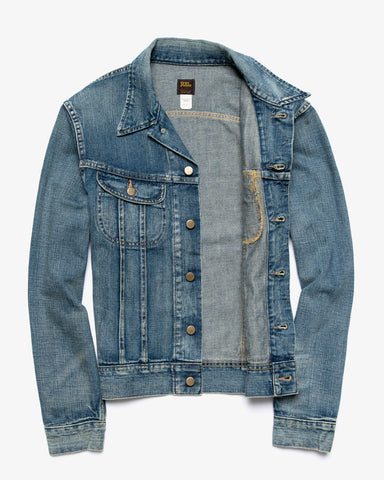 LOT 271 DENIM JACKET LEELAND WASH