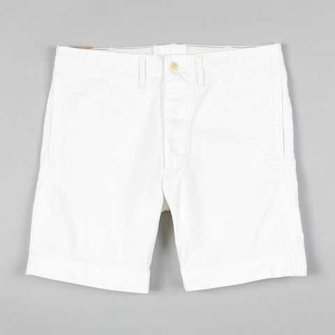 OFFICER'S CHINO SHORT WHITE