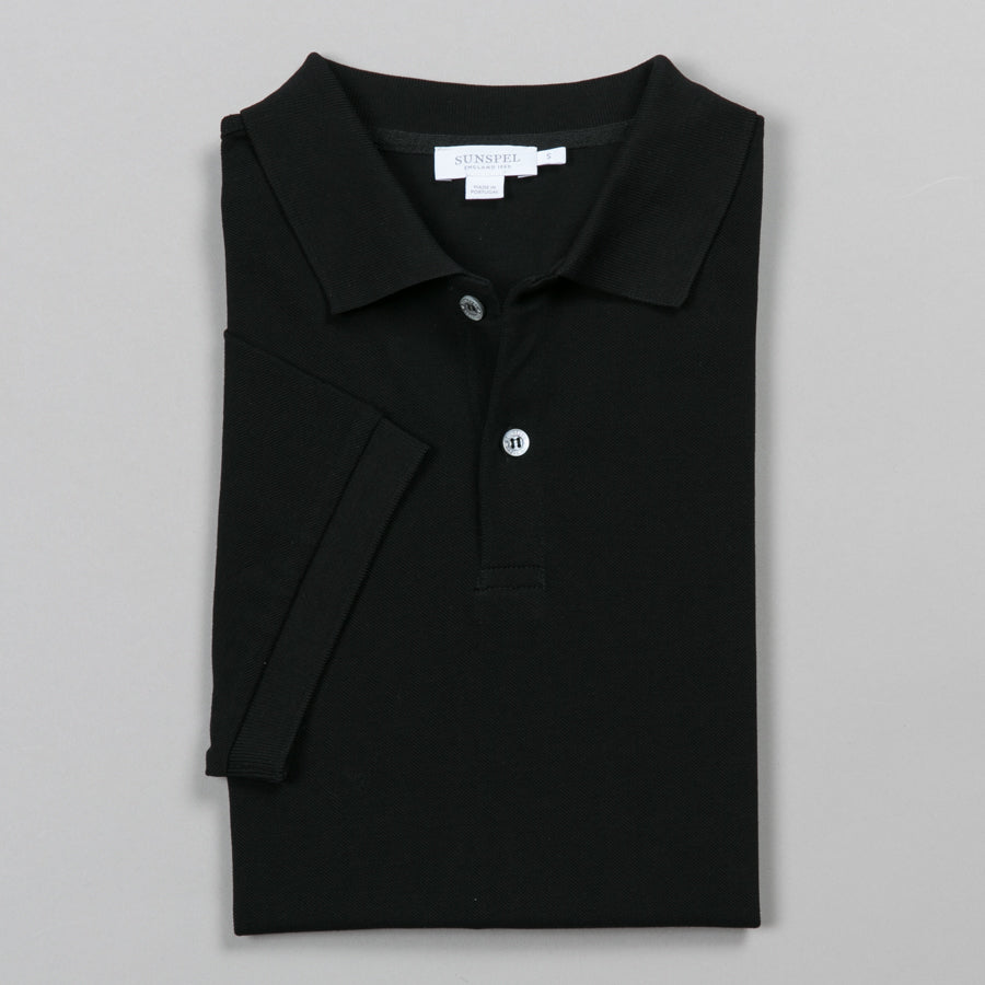 922516ec3df SUNSPEL-PIQUE POLO BLACK-Supply & Advise ...