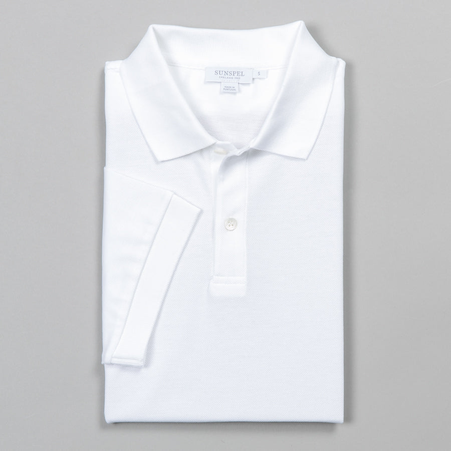 0fbdcc7be94 SUNSPEL-PIQUE POLO WHITE-Supply & Advise ...